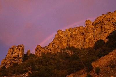 double rainbow Mount Lemmon Tucson AZ southeast Arizona trip July 2021 IMGC0245