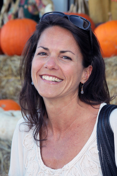 Elizabeth Gerber, 44, of Tiburon, at the Paradise Shopping Center in Corte Madera, Ca, on October 26, 2010.