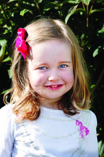 Maddie Schneider age 3