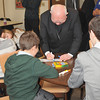 Bishop Murphy even made a few students happy with his autographs.
