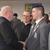 Brian DiGregorio spoke of his work this past summer in Latin America spreading his Christian faith with his fellow parishioners from St. Raymond's.  Fr. Tom is also a graduate from St. Raymonds.