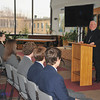 Bishop Murphy said he was very pleased to know that the students of Kellenberg are supporting the spiritual growth of their younger firebirds.