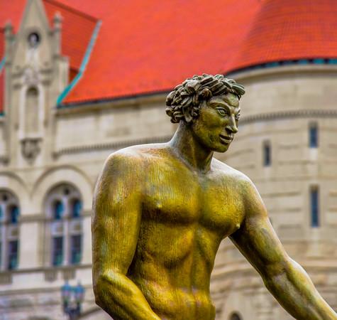Union Station Milles Fountain 1