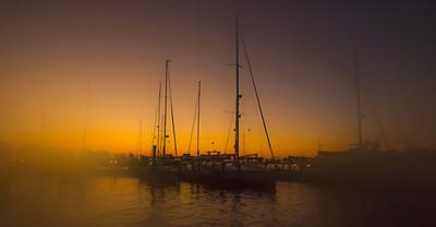 Fog Sunrise 1