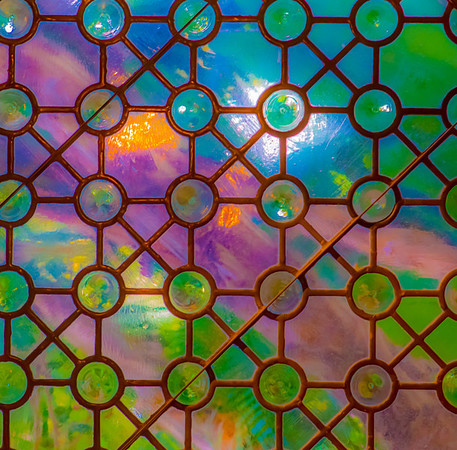 Art Glass Abstract FOUR SEASONS