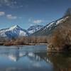 Lake Wenatchee near Leavenworth in the Cascade Mountains