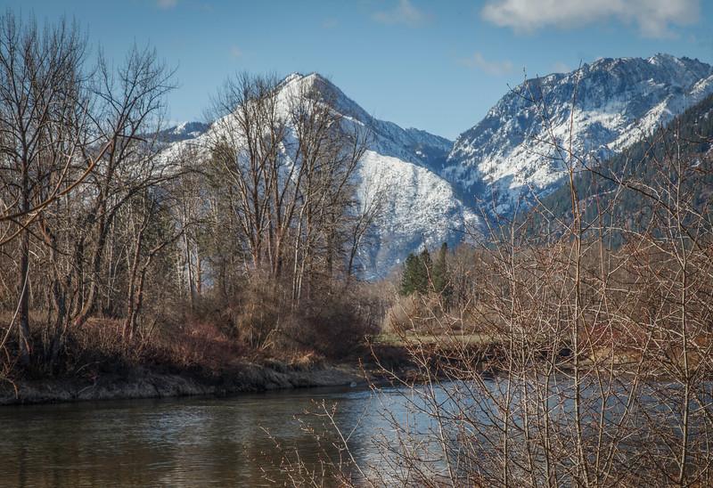 Wenatchee River near Leavenworth