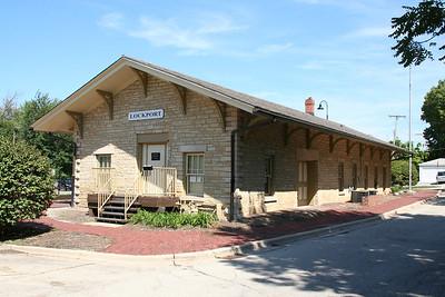 LOCKPORT TRAIN STATION 1860-2010