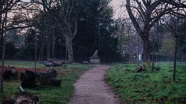 Cannizaro Park - Footpath to Diana