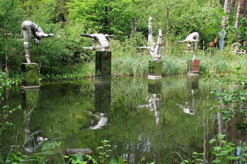 Divers at The Sculpture Park