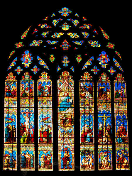 Stained Glass Window - Chichester Cathedral