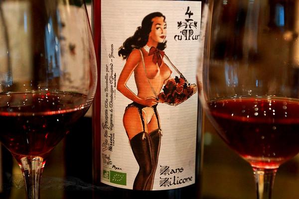 Nicole Zans Zilicone (sic) Wine Label