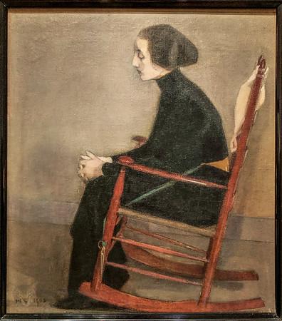 THe Seatstress - Helene Schjerfbeck