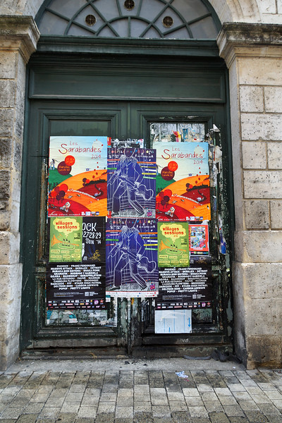 Angouleme - Gig Posters on a Door - France