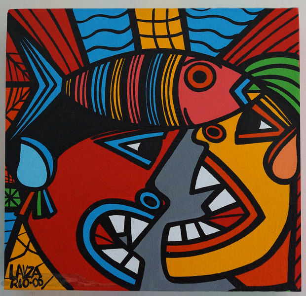 Painting by Lavza from Ipenema Market