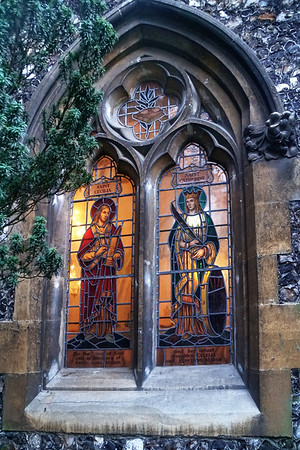 St Mary's Church - Stained Glass Window