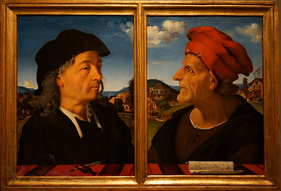 Giuliano & Francesco Giamberti by Piero di Cosimo