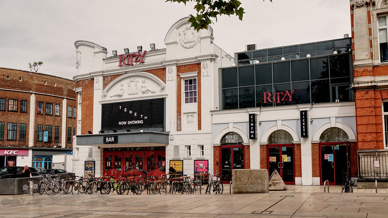 Brixton - Ritzy Cinema - Windrush Square