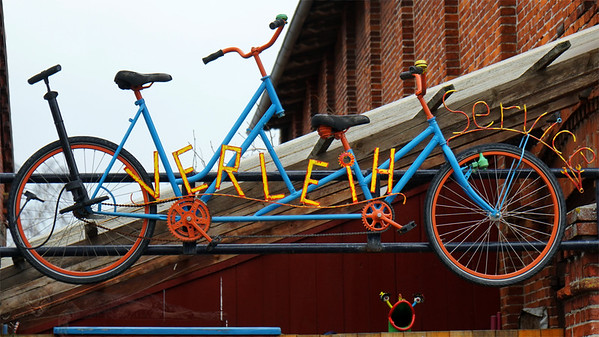 Fehmarn - Sculpture - Bicycle