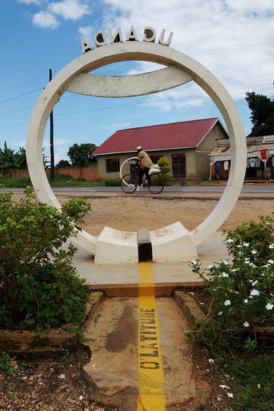 A Cyclist Crossing the Equator - Uganda