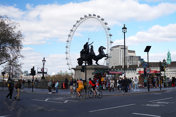 Westminster Bridge - Boudiccan Rebellion