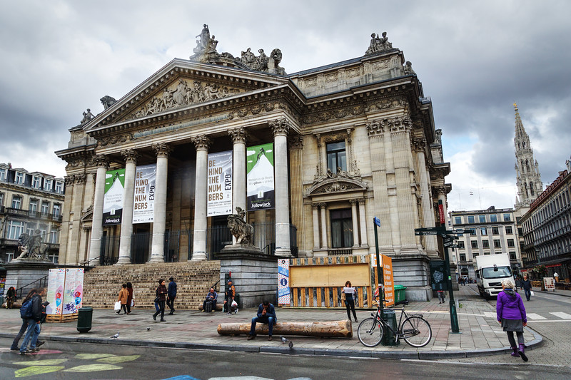 Stock Exchange in Brussels