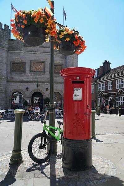 Pillar Box Near THe Old Town Hall