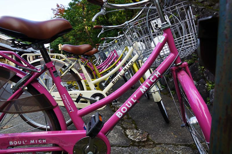 Kyoto - Bicycles - Japan