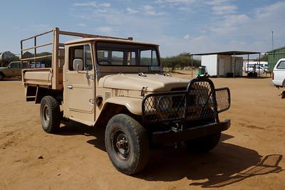 Classic Toyota Land Cruiser Pick Up Truck