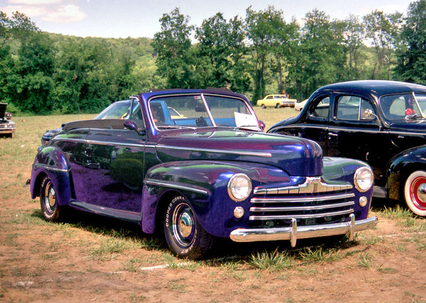 1940s Ford Super Deluxe Convertible