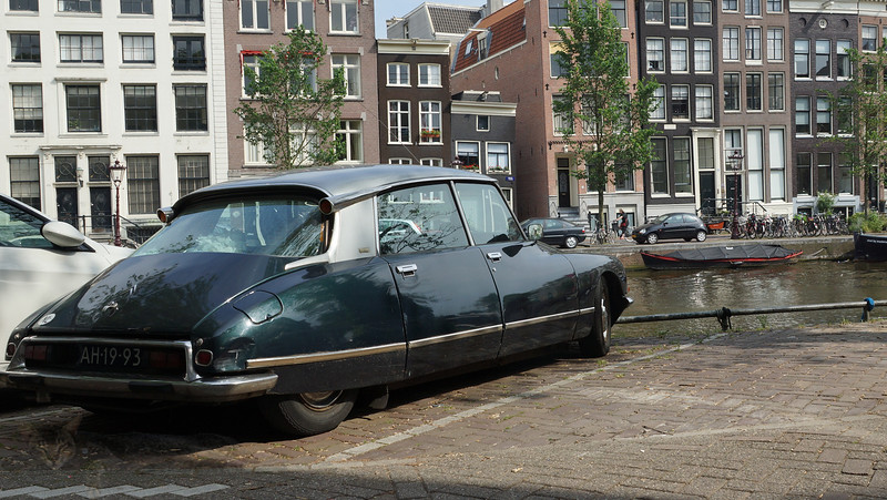 Citroen DS in Amsterdam