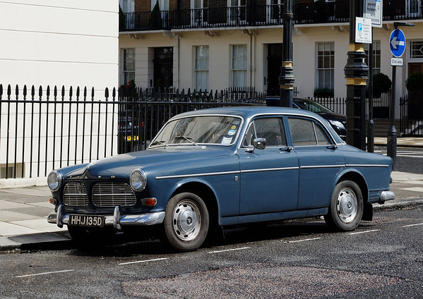 Classic Volvo in London
