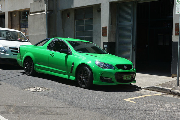 Green Holden Ute - Coupe Utility