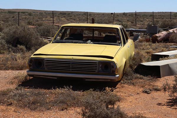 Silverton - Abandoned Car in Silverton