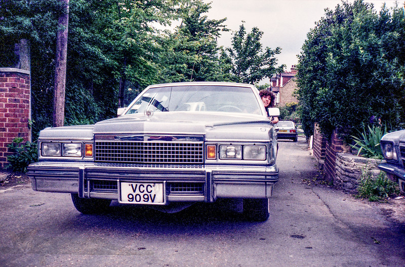 Cadillac - Possibly a Fleetwood Brougham