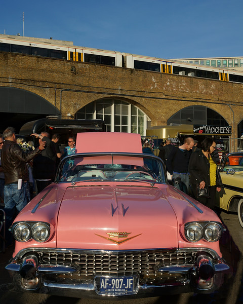 Pink Cadillac DeVille Convertible