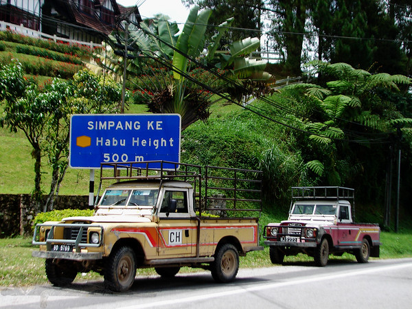 Cameron Highlands Land Rovers