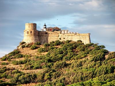 Tabarka Castle in Tunisia
