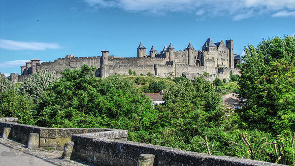 Carcassonne Castle Walls