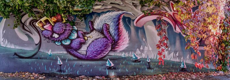 Street Art - Blakesley Walk