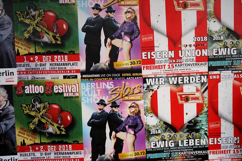 Street Poster - Berlin