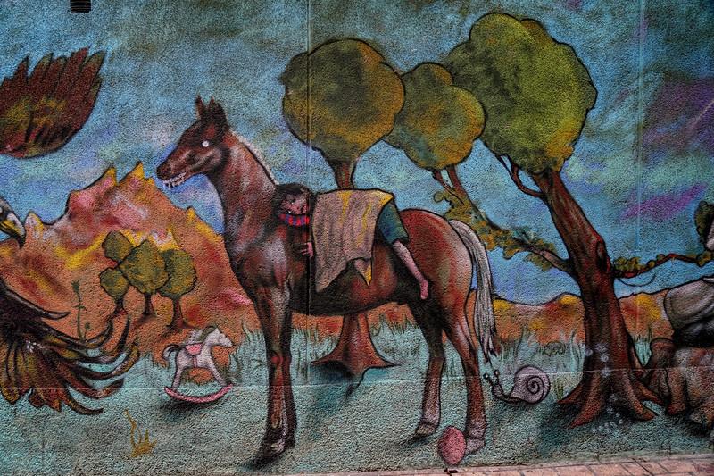 Mural in Zaragoza, Spain