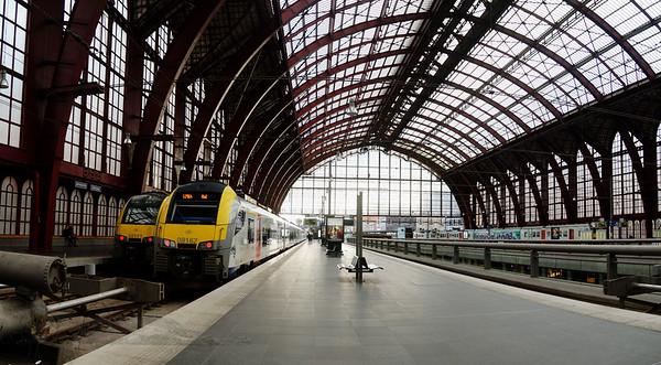 Antwerp Centraal Railway Station