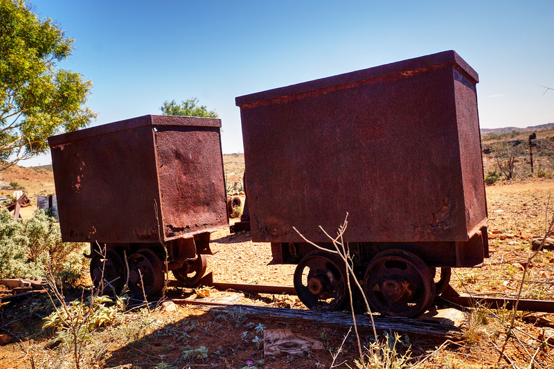 Broken Hill - Mine Machinery near Broken Hill - New South Wales - Australia