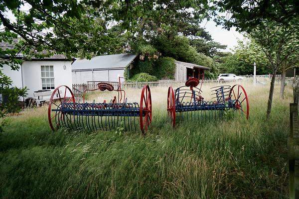 Farm Machinery - Wimbledon Windmill