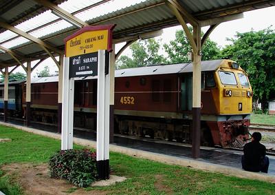 Train at Chiang Mai Station