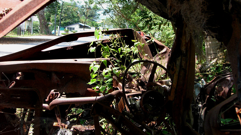 Burnt Out Car Wrecks