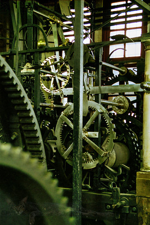 Mechanism in The Belfry of Bruges
