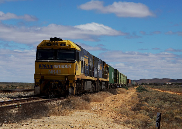 Locomotive to Broken Hill