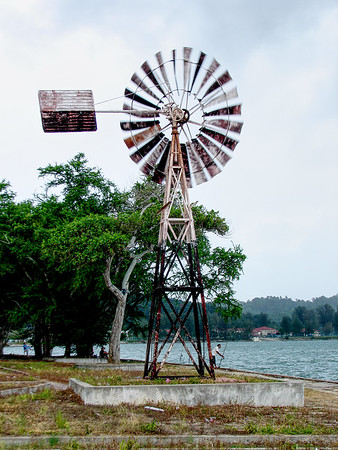 Windmill on Lumut Waterfont